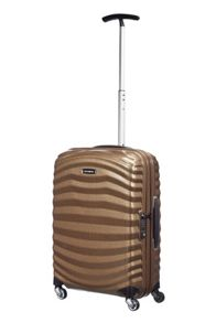 Samsonite Lite-Shock sand 4 wheel 55cm cabin suitcase