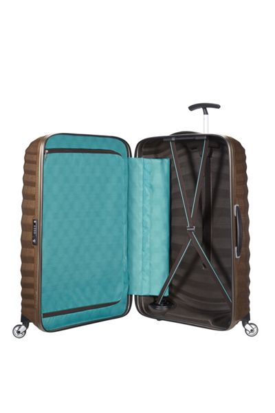 Samsonite Lite-Shock sand 4 wheel 75cm spinner