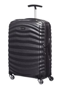 Lite-Shock black 4 wheel Luggage set