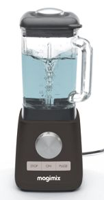 Le Blender black food processor