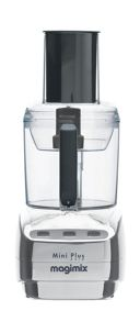 Mini Plus Chrome food processor