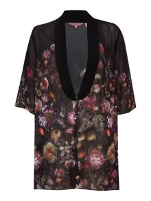 co shadow floral cover up