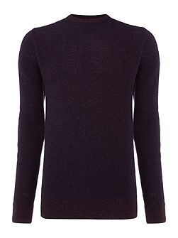 Robin Textured Crew Neck Pull Over Jumpers