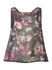 cl shadow floral top