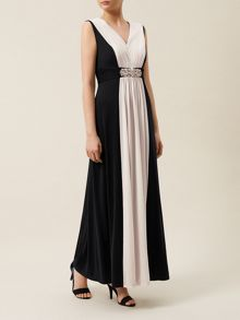 Colour Block Maxi
