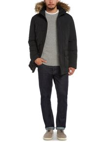 Marvin Fleece Lined Parka Coat