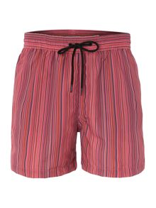 Multistripe Swim Short