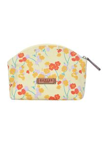 Butterfield yellow small zip cosmetic case