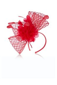 Gracie basket weave fascinator