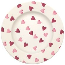 Pink Hearts 8 1/2 Plate