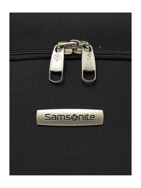 Samsonite Arnavon black 2 wheel soft cabin suitcase