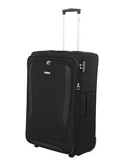 Arnavon black 2 wheel soft large case