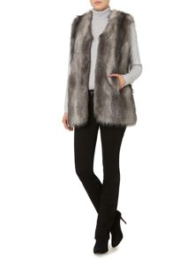 Linea Weekend Faux Fur Gilet