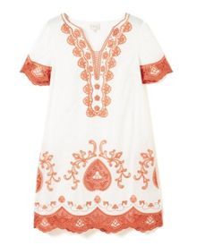 East Lace Applique Dress