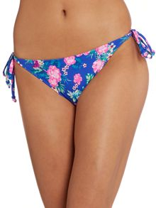 Marie Meili Floral tie side brief