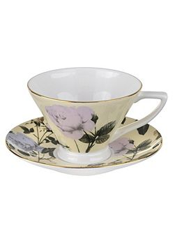 Portmeirion Teacup & Saucer Lemon