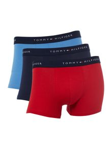 3 Pack Plain Trunk
