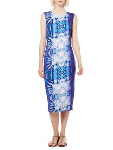 Label Lab Shibori Digi Jersey Dress