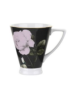 Rosie Lee Footed Mug Black