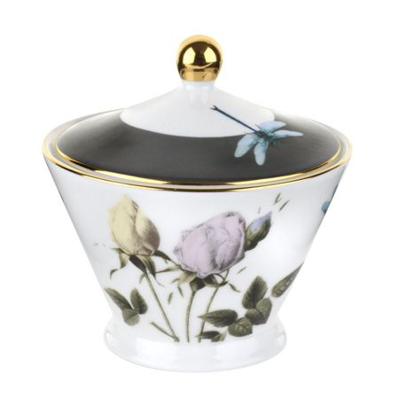 Ted Baker Portmeirion Covered Sugar Bowl White