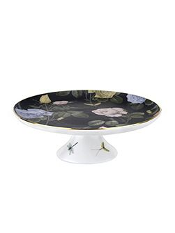 Ted Baker Ted Baker Footed Cake Stand Black