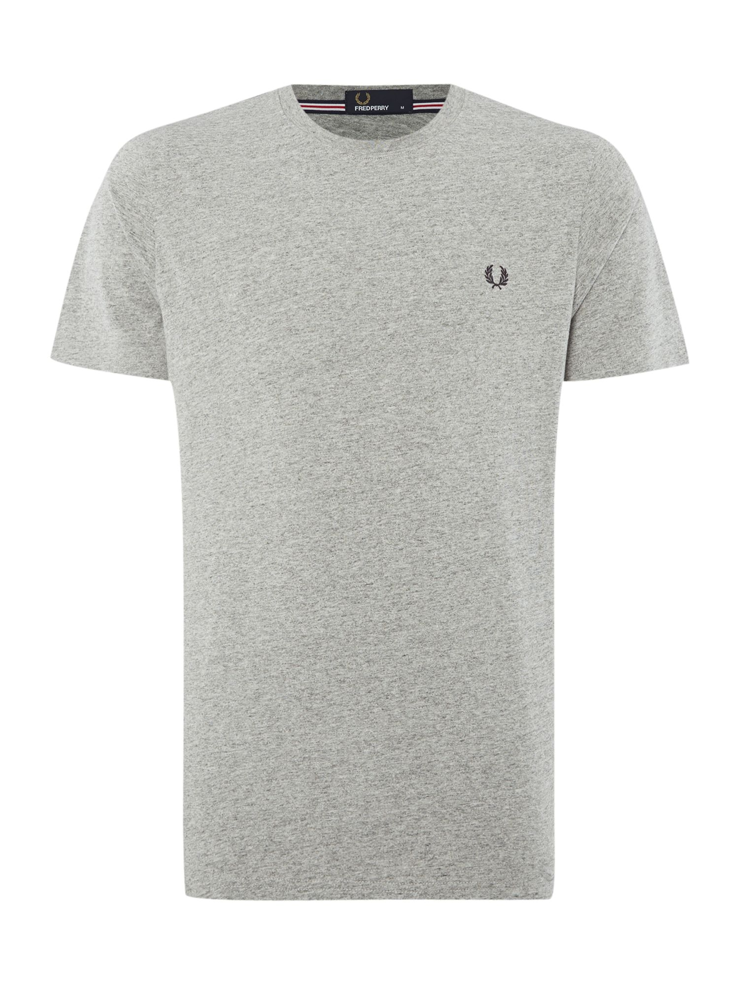 Men's Fred Perry Short-Sleeved T-Shirt, Steel