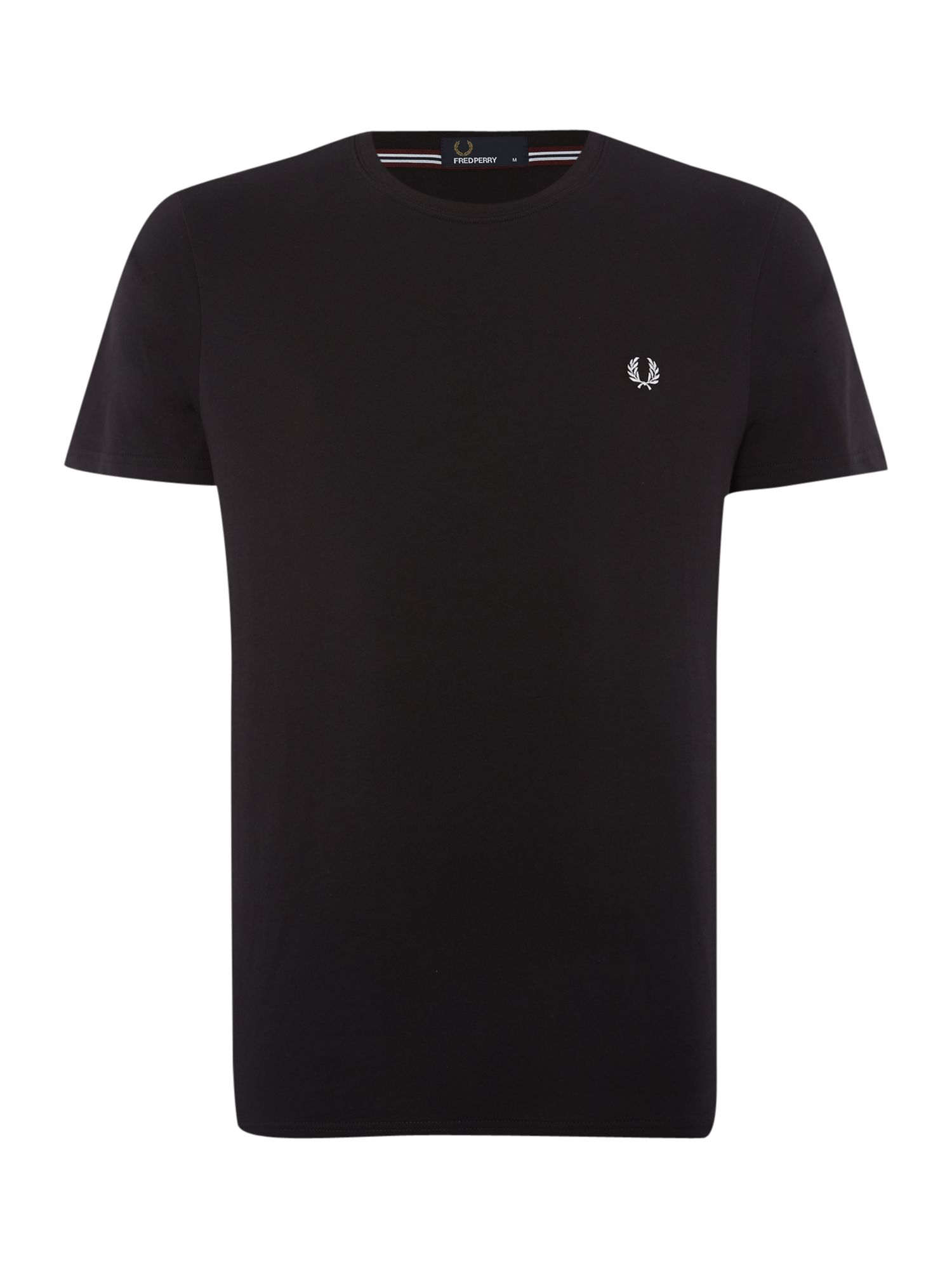 Men's Fred Perry Short-Sleeved T-Shirt, Black