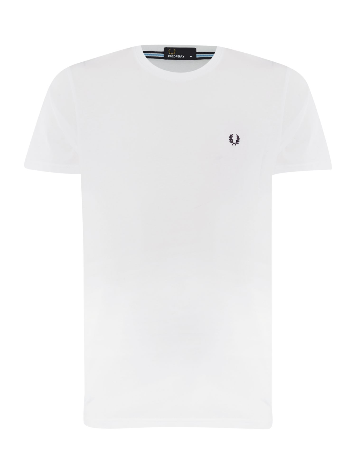 Men's Fred Perry Short-Sleeved T-Shirt, White