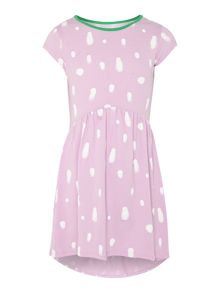 Girls Polka Spray Dress