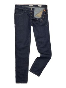 Coloured Wash Low Rise Jeans