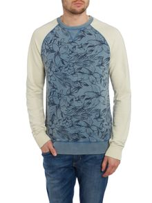 Blend Pattern Crew Neck Pull Over Jumpers