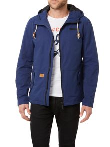 Blend Casual Not Waterproof Full Zip Parka Coat