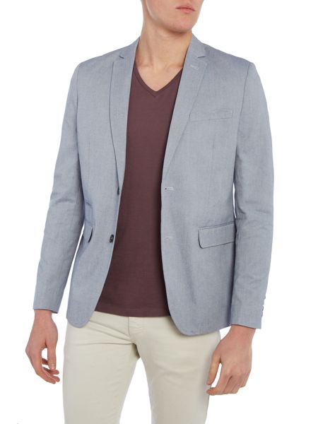 Casual Friday Button Blazer