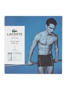 Lacoste Motion Jacquard Mesh Plain Trunk