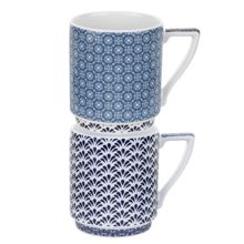 Ted Baker Portmeirion stacking mug set of 2 balfour III&IV