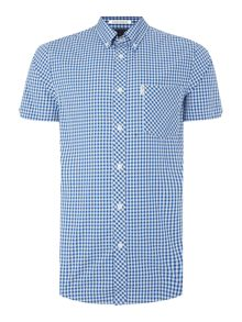 Ben Sherman Classic Gingham Check Short Sleeve Shirt