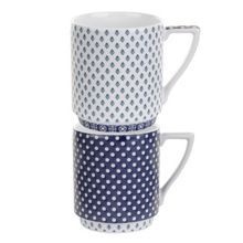 Ted Baker Portmeirion stacking mug set of 2 balfour