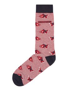 Ted Baker Oxford Fish Sock