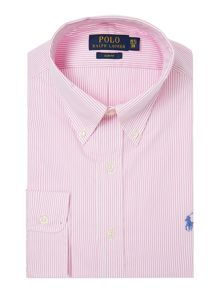 Polo Ralph Lauren Stripe Slim Fit Dress Shirt