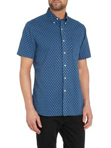 Polo Ralph Lauren Print Classic Fit Short Sleeve Shirt