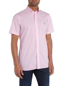 Check Short Sleeve Dress Shirt