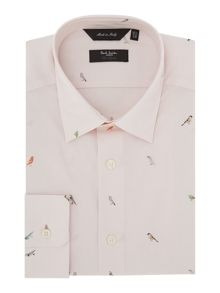Paul Smith London The Byard Pattern Slim Fit Long Sleeve Shirt