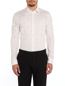 The Byard Pattern Slim Fit Long Sleeve Classic Co
