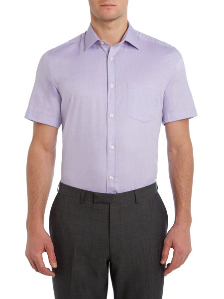 Howick Tailored Bannon Short Sleeve Shirt