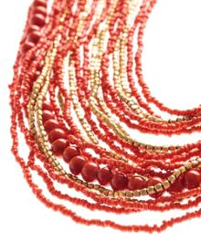 Seed Bead Multi Necklace