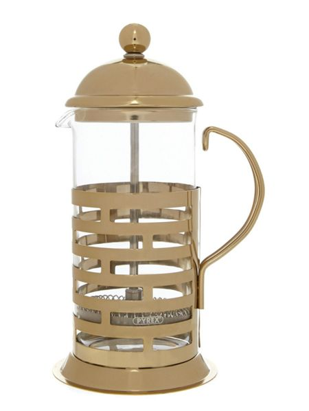 Linea 3 cup cafetiere gold