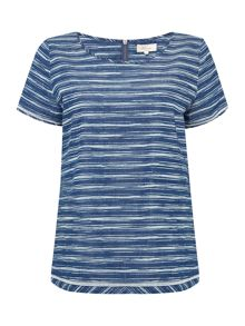 Linea Weekend Day Break Stripe Woven Top