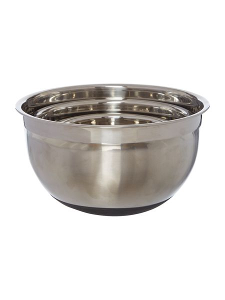 Linea Metal nested mixing bowls