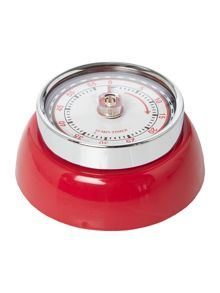Retro timer red
