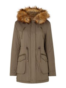 Anaverna Faux Fur Lined Parka